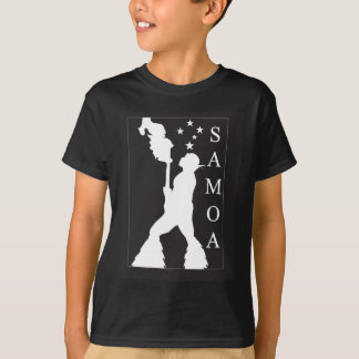 SamoaBlackWhite.ai T-Shirt
