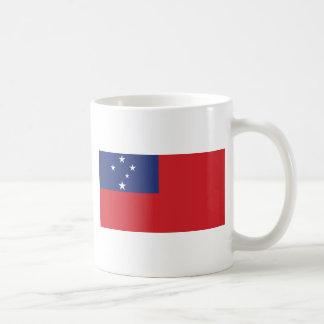 Samoan Flag Classic White Coffee Mug