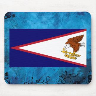 Samoan flag mouse pad