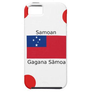 Samoan Language And Samoa Flag Design iPhone 5 Case