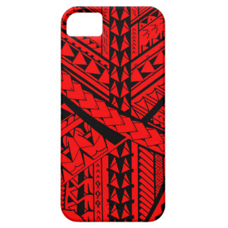 Samoan/Polynesian tribal shapes and symbols iPhone 5 Case