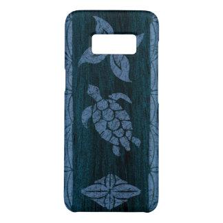 Samoan Tapa Hawaiian Faux Wood Surfboard Case-Mate Samsung Galaxy S8 Case