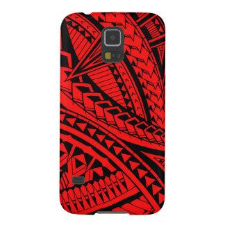 Samoan tattoo pattern case for galaxy s5