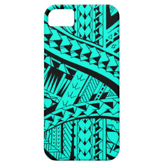 Samoan tribal tattoo pattern with spearheads art case for the iPhone 5