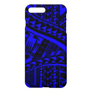 Samoan tribal tattoo pattern with spearheads art iPhone 8 plus/7 plus case