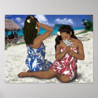 Samoana Beauty Poster