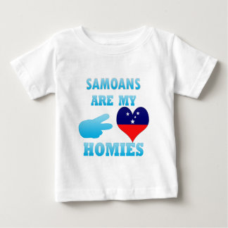 Samoans are my Homies Baby T-Shirt