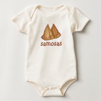 Samosas Indian Food Samosa Foodie Baby Bodysuit