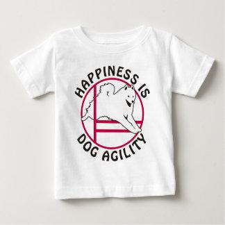 Samoyed Agility Happiness Baby T-Shirt