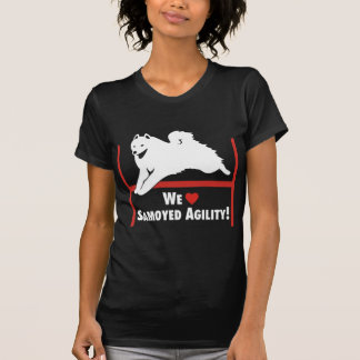 Samoyed Agility Love T-Shirt