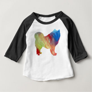 Samoyed art baby T-Shirt