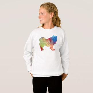 Samoyed art sweatshirt