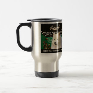 Samoyed Brand – Organic Coffee Company Travel Mug
