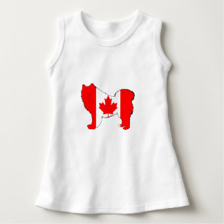 Samoyed Canada Dress