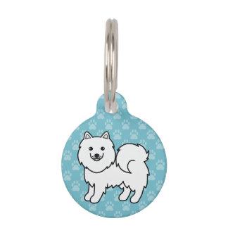 Samoyed Cartoon Dog Pet Tag