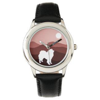 Samoyed Custom Stainless Steel Watch
