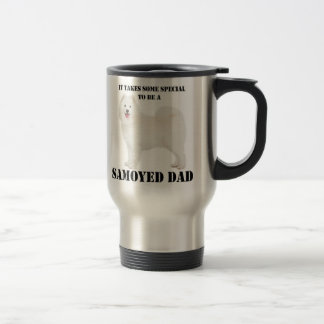 Samoyed Dad Travel Mug