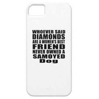 SAMOYED DOG BEST FRIEND DESIGNS iPhone 5 COVERS