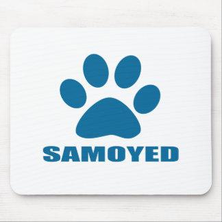 SAMOYED DOG DESIGNS MOUSE PAD