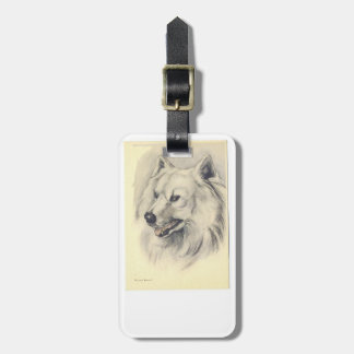 Samoyed Dog Luggage Tag
