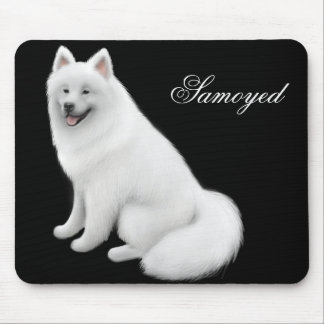 Samoyed Dog Mousepad