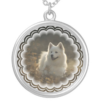 Samoyed Dog Necklace