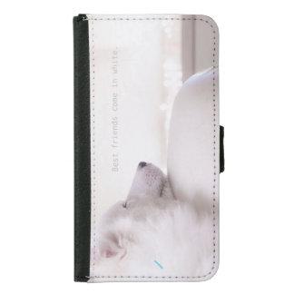 Samoyed dog,  Samsung Galaxy S5 Wallet Case