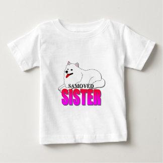 Samoyed Dog Sister Baby T-Shirt