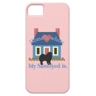 Samoyed Home Is Where iPhone 5 Covers