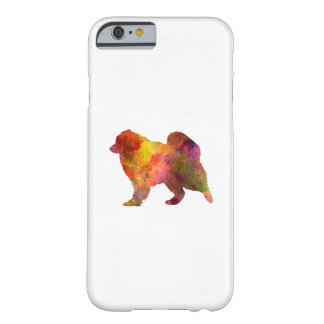 Samoyed in watercolor barely there iPhone 6 case