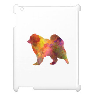 Samoyed in watercolor iPad cases