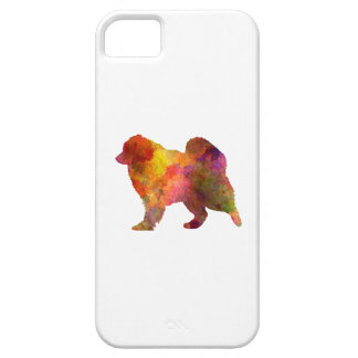 Samoyed in watercolor iPhone 5 cases