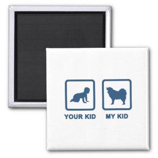 Samoyed Square Magnet