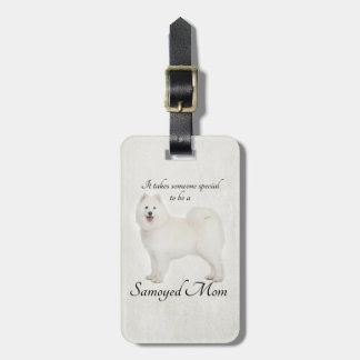 Samoyed Mom Luggage Tag