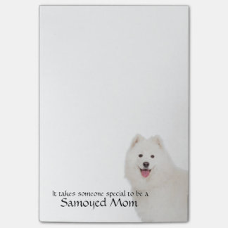 Samoyed Mom Post-It Notes