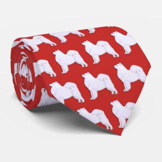 Samoyed Neck Tie Royal Red
