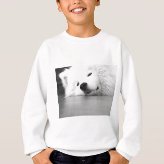 Samoyed Photo Dog White Sweatshirt