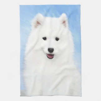 Samoyed Puppy Kitchen Towel