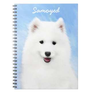 Samoyed Puppy Spiral Notebook