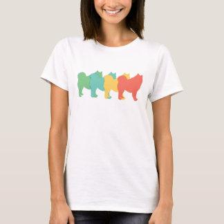 Samoyed Retro Pop Art T-Shirt