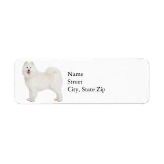 Samoyed Return Address Label
