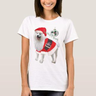 Samoyed Santa paws T-Shirt