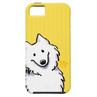 Samoyed Sunshine Stripes Case For The iPhone 5