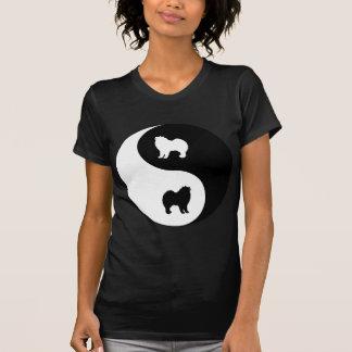 Samoyed Yin Yang T-Shirt