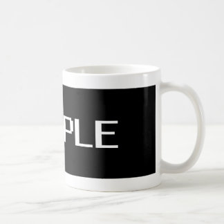 sample coffee mug