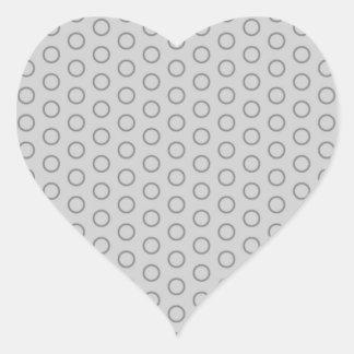 sample dotted pastelfarben pastel scored DOT Heart Sticker
