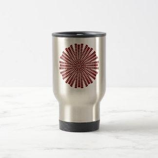 Sample of hexagons pattern hexagon travel mug