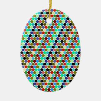 Sample scores ceramic ornament