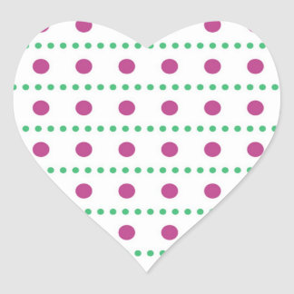 sample scores scored dotted polka dots heart sticker