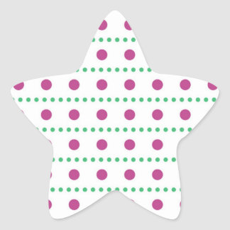 sample scores scored dotted polka dots star sticker